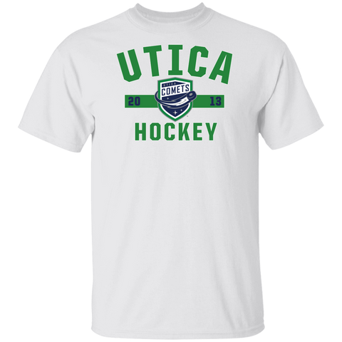 Utica Comets Adult Established Short Sleeve T-Shirt
