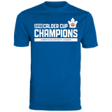 Toronto Marlies 2018 Calder Cup Champions Men's Raise the Bar Wicking T-Shirt
