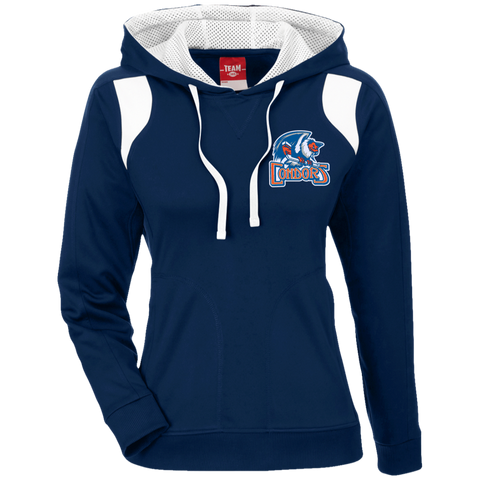 Bakersfield Condors 365 Ladies' Colorblock Poly Hoodie