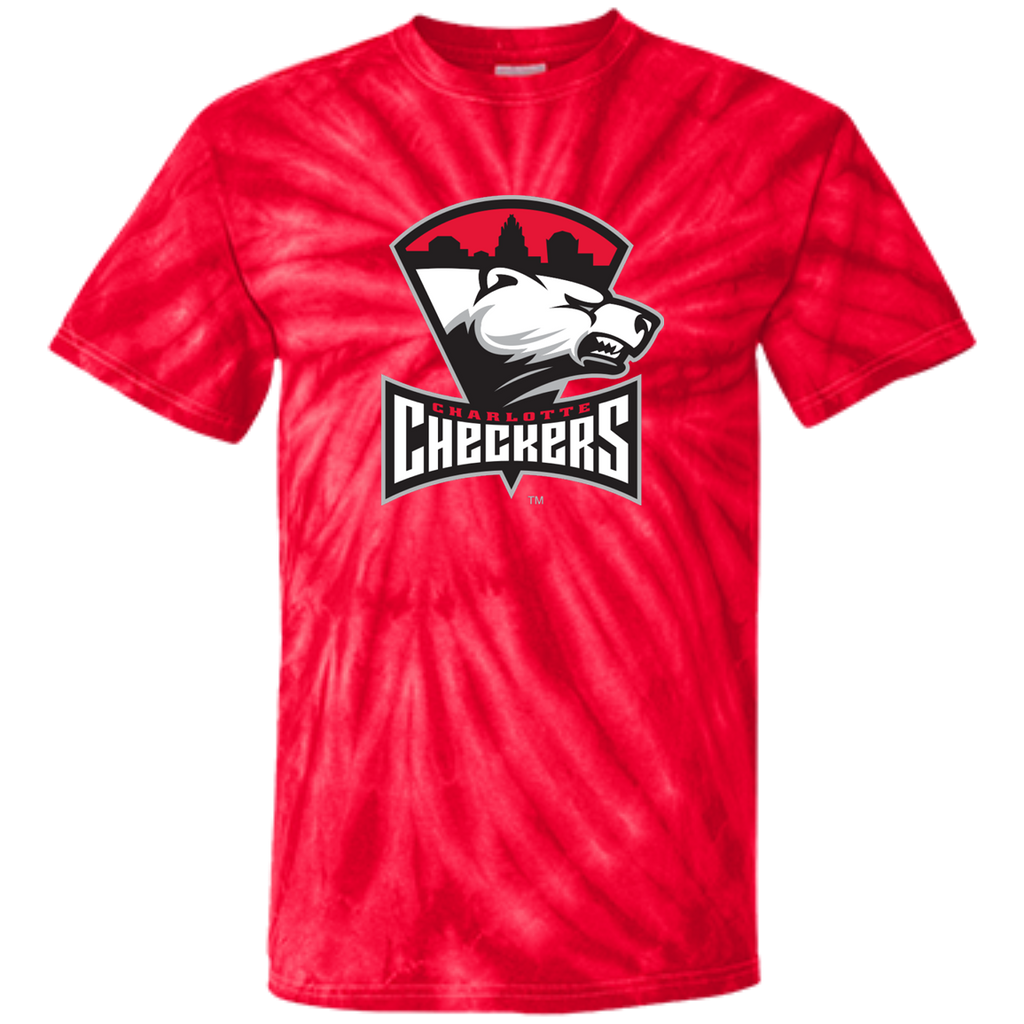 Charlotte Checkers Youth Tie Dye T-shirt