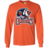Bakersfield Condors Primary Logo Youth Long Sleeve T-Shirt
