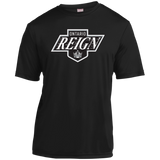 Ontario Reign Primary Logo Adult Short Sleeve Moisture-Wicking T-Shirt