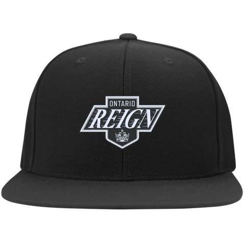 Ontario Reign Flat Bill High-Profile Snapback Hat