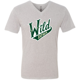 Iowa Wild Men's Next Level Triblend V-Neck T-Shirt