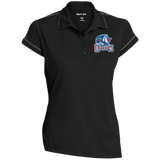 Bakersfield Condors Ladies' Contrast Stitch Performance Polo