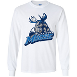 Manitoba Moose Primary Logo Youth Long Sleeve T-Shirt