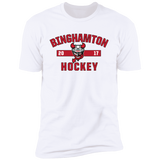 Binghamton Devils Adult Established Next Level Premium Short Sleeve T-Shirt
