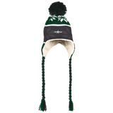 Texas Stars Winter Hat with Ear Flaps and Braids