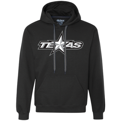 Texas Stars Adult Heavyweight Pullover Fleece Sweatshirt