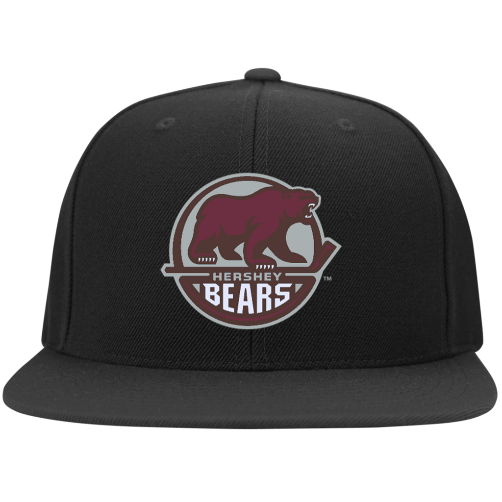 Hershey Bears Flat Bill High-Profile Snapback Hat