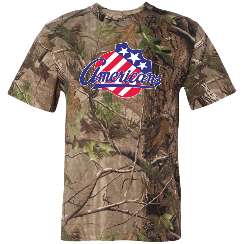 Rochester Americans Adult Short Sleeve Camouflage TShirt