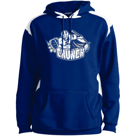Syracuse Crunch Adult Shoulder Colorblock Pullover Hoodie