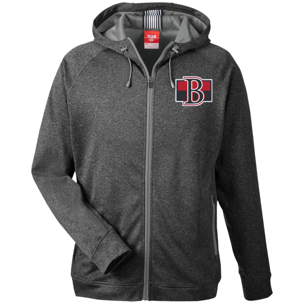 Belleville Senators Team 365 Men's Heathered Performance Hooded Jacket