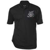 Chicago Wolves Performance Textured Three-Button Polo