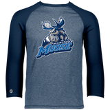 Manitoba Moose Primary Logo Holloway Men's Typhoone T-Shirt