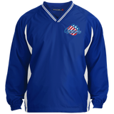Rochester Americans Adult Tipped VNeck Wind Shirt