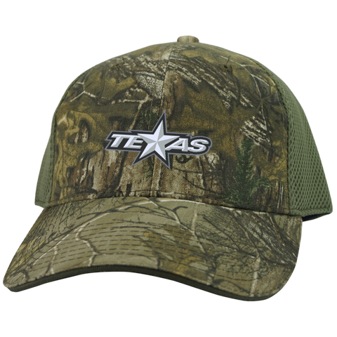 Texas Stars Camo Cap with Mesh