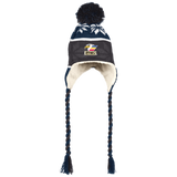 Colorado Eagles Hat with Ear Flaps and Braids