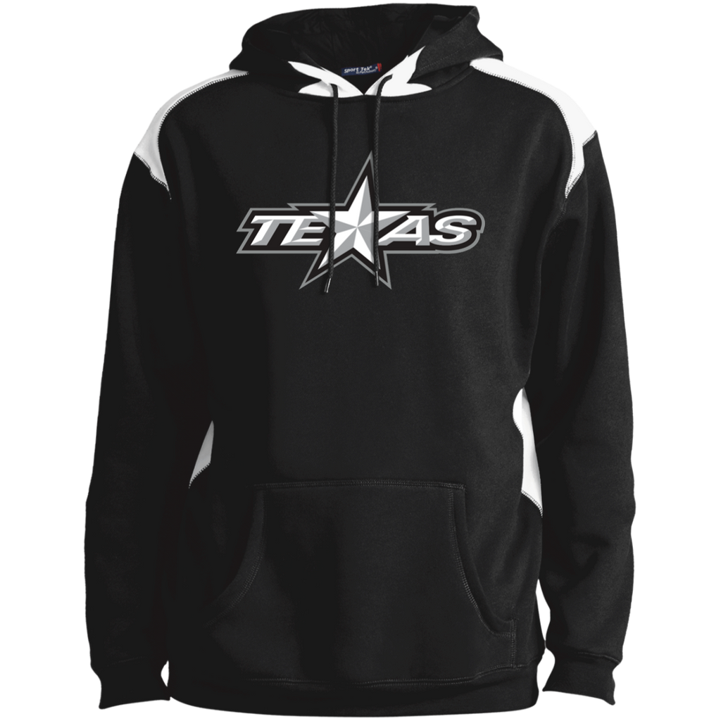 Texas Stars Adult Colorblock Pullover Hoodie