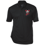 Binghamton Devils Performance Textured Three-Button Polo