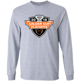 Lehigh Valley Phantoms 2018 Calder Cup Playoffs Youth Long Sleeve T-Shirt
