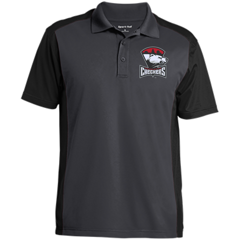 Charlotte Checkers Men's Colorblock Sport-Wick Polo