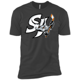 San Jose Barracuda Primary Logo Next Level Premium Short Sleeve T-Shirt