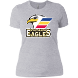 Colorado Eagles Primary Logo Next Level Ladies' Short Sleeve T-Shirt
