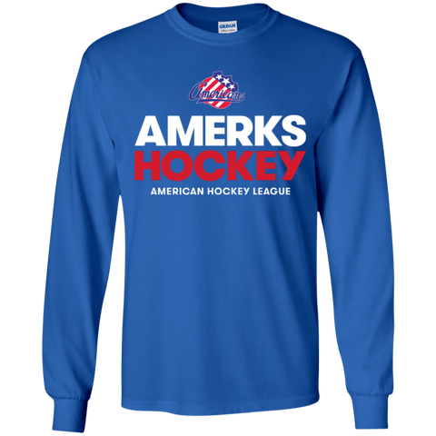Rochester Americans Hockey Youth Long Sleeve T-Shirt