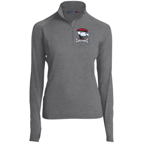 Charlotte Checkers Women's Half Zip Performance Pullover