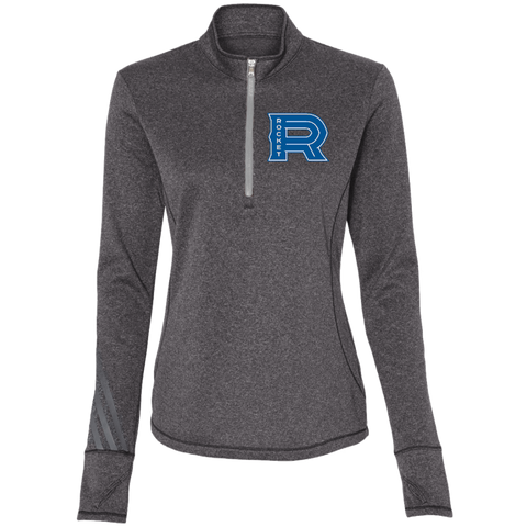 Laval Rocket Adidas Ladies' Terry Heather 1/4 Zip