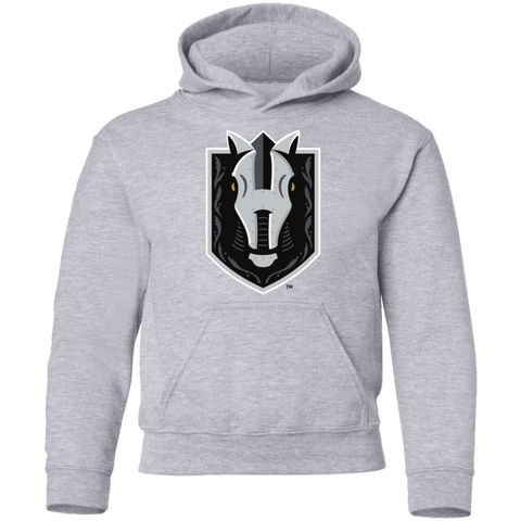Henderson Silver Knights Youth Primary Logo Pullover Hoodie