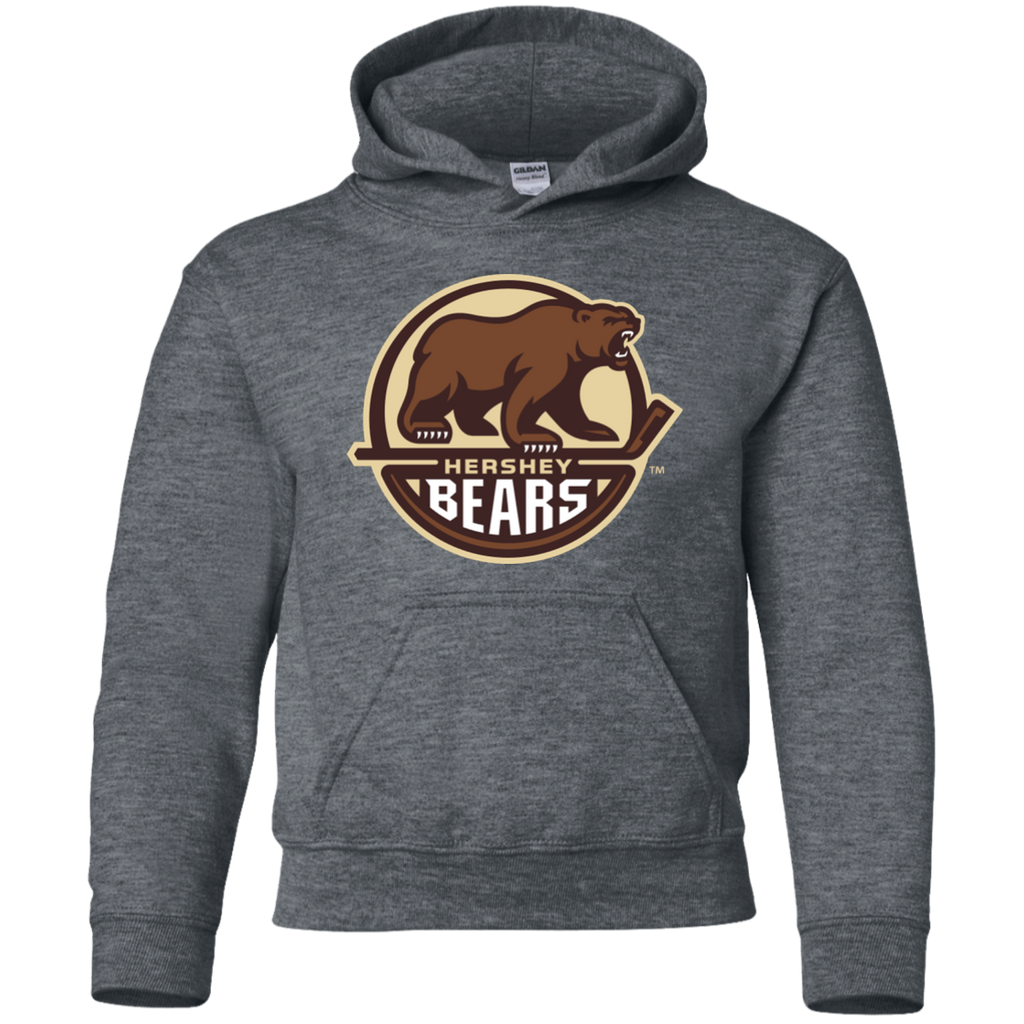 Hershey Bears Primary LogoYouth Pullover Hoodie