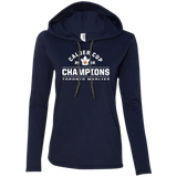 Toronto Marlies 2018 Calder Cup Champions Arch Ladies' LS T-Shirt Hoodie