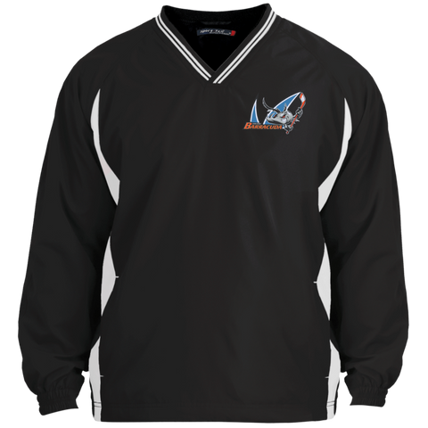 San Jose Barracuda Tipped VNeck Wind Shirt
