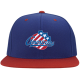 Rochester Americans Flat Bill High-Profile Snapback Hat