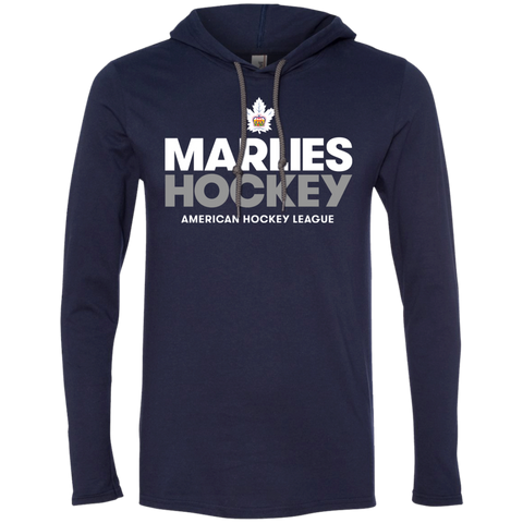 Toronto Marlies Hockey Adult Long Sleeve T-Shirt Hoodie