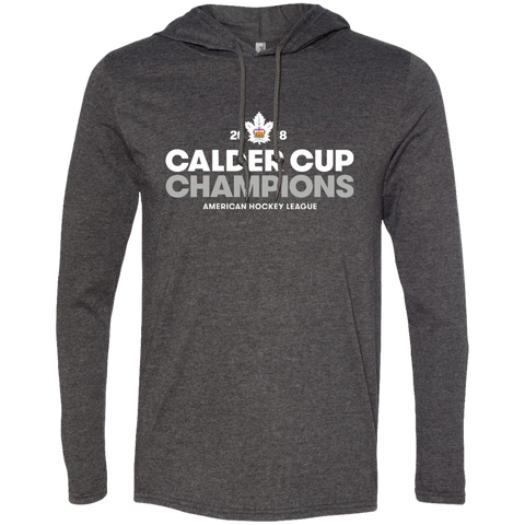 Toronto Marlies 2018 Calder Cup Champions Adult Crown Long Sleeve T-Shirt Hoodie