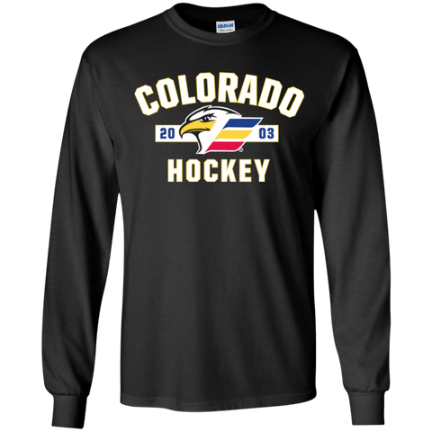 Colorado Eagles Youth Established Long Sleeve T-Shirt