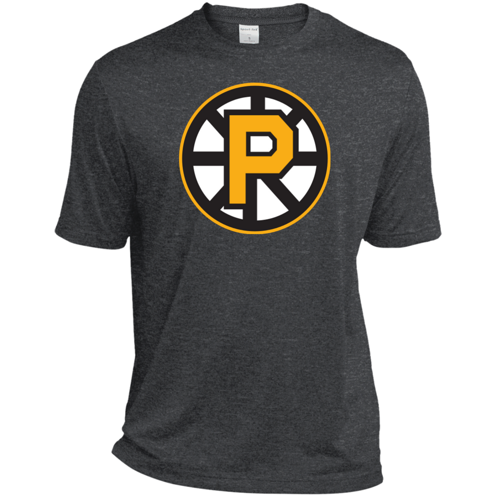 Providence Bruins Primary Logo Heather Dri-Fit Moisture-Wicking T-Shirt