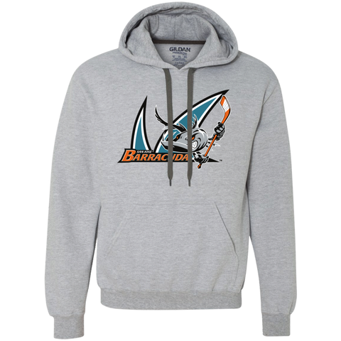 San Jose Barracuda Primary Logo Heavyweight Pullover Fleece Sweatshirt