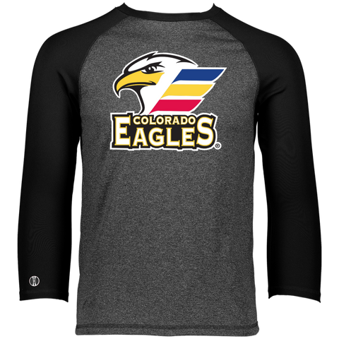 Colorado Eagles Primary Logo Holloway Men's Typhoone T-Shirt (Sidewalk Sale)