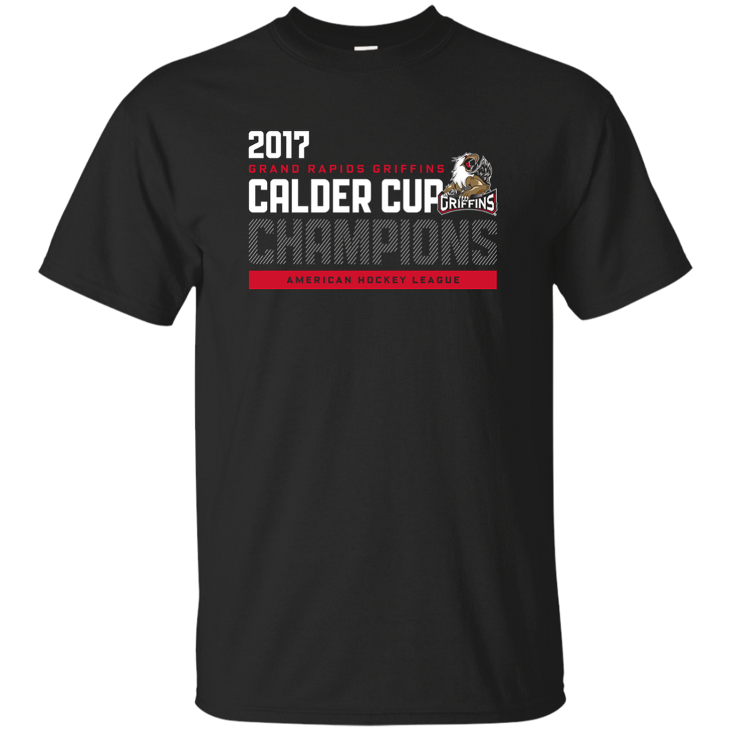 Grand Rapids Griffins 2017 Calder Cup Champions Athletic Youth T-Shirt (black)