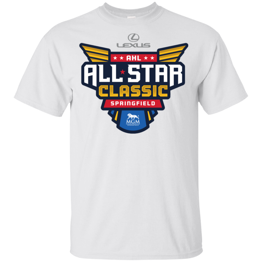 2019 AHL All Star Classic Primary Logo Youth Short Sleeve T-Shirt
