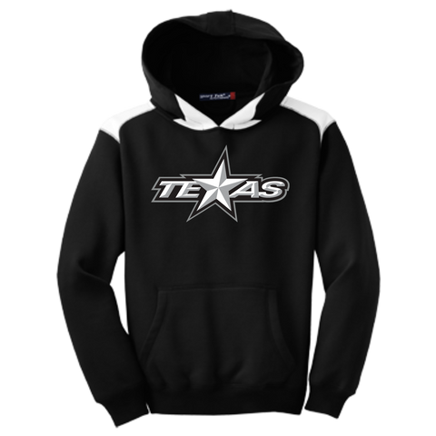Texas Stars Youth Colorblock Pullover Hoodie
