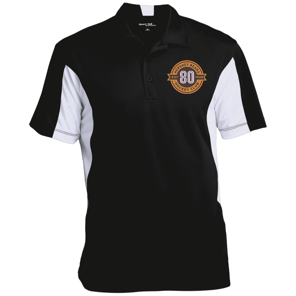 Hershey Bears 80th Anniversary Men's Colorblock Performance Polo