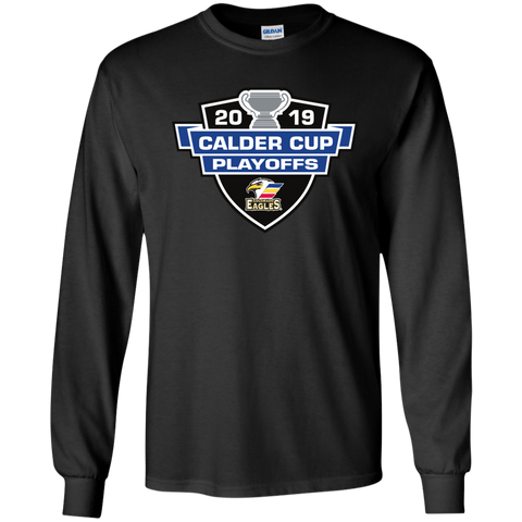 Colorado Eagles 2019 Calder Cup Playoffs Youth Long Sleeve T-Shirt