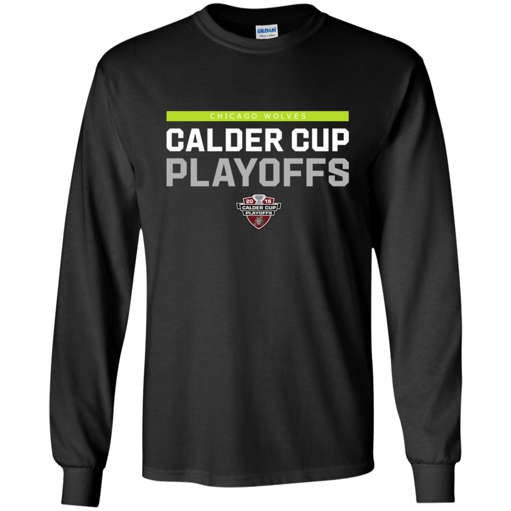 Chicago Wolves Youth 2018 Postseason Long Sleeve T-Shirt