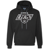 Ontario Reign Primary Logo Adult Heavyweight Pullover Fleece Sweatshirt
