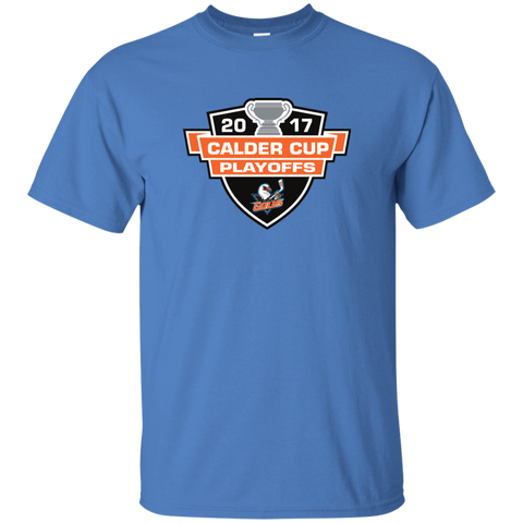 San Diego Gulls Adult 2017 Calder Cup Playoffs Short Sleeve T-Shirt